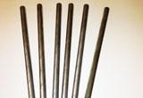Barra di metallo con spirale